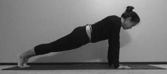 full plank pose