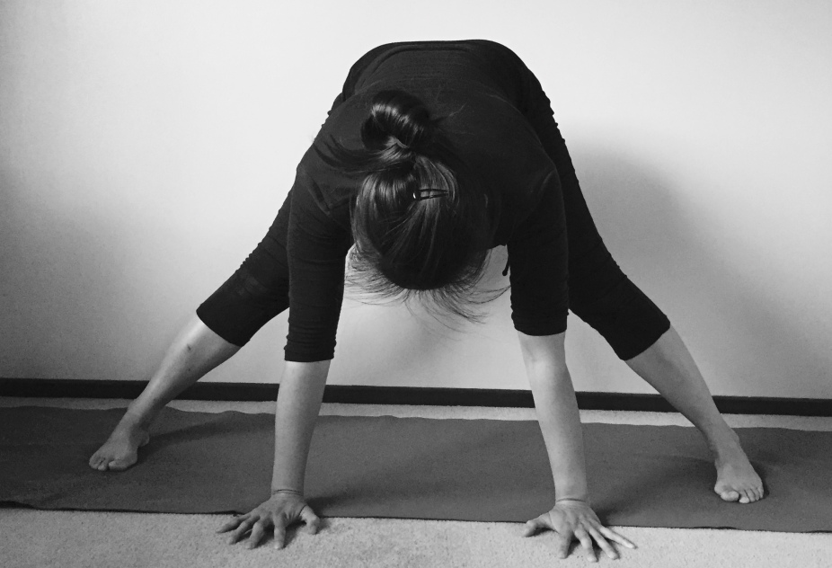 prasarita padottanasana yoga pose