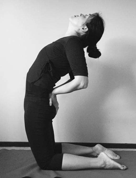 ustrasana yoga pose